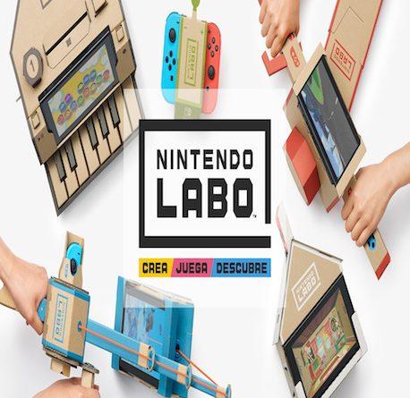 Nintendo Labo, un kit para la creatividad