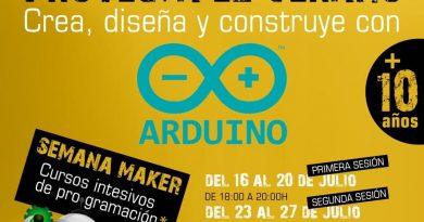 Curso intensivo de Arduino ¡Proyecta el verano!