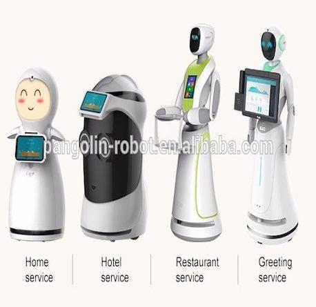 """El robot que trabaja en un hotel """"Alibaba"""""""