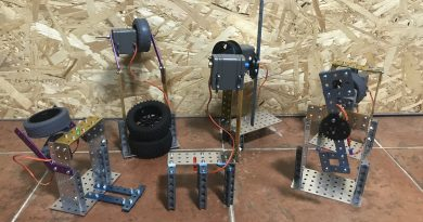 Transformando la energía, proyecto de robótica II