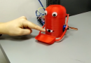 Robot hambriento2 con sensor IR